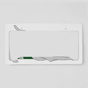 StretchingWeimTrans License Plate Holder