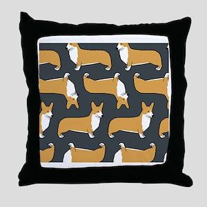 corgiwallet Throw Pillow