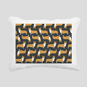 corgiskin Rectangular Canvas Pillow