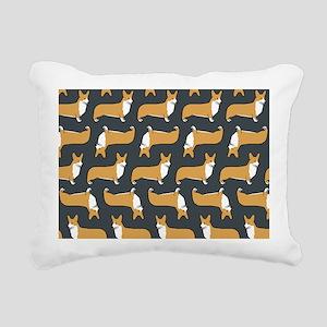 corgibigbag Rectangular Canvas Pillow