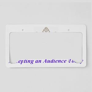 queen License Plate Holder