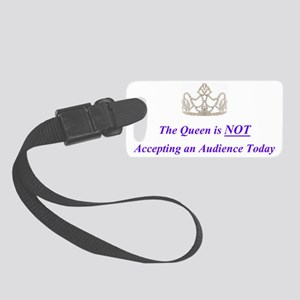 queen Small Luggage Tag
