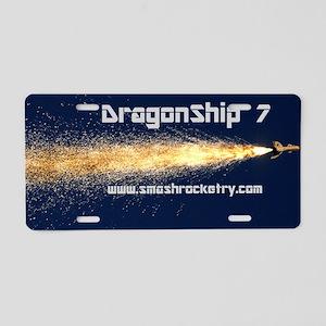 dragonship-cap Aluminum License Plate