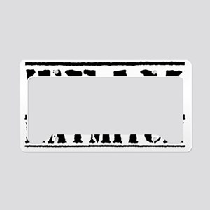teamhaymitchtopsecret License Plate Holder