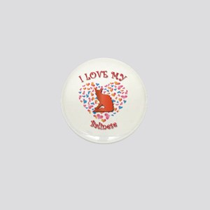 Love My Balinese Mini Button