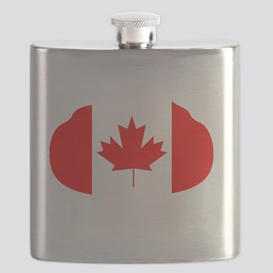Canada Curling Flask
