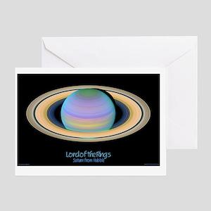 saturn_natgeo_poster_final Greeting Card