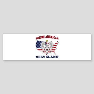 Cleveland Ohio Polish Sticker (Bumper)