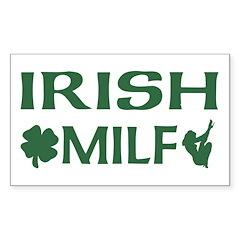 Irish MILF Rectangle Decal