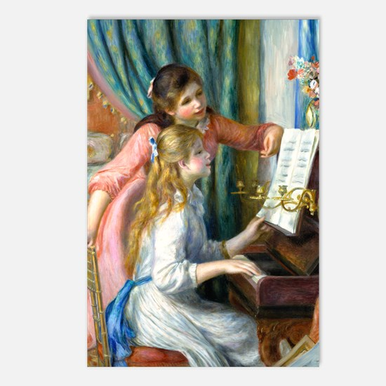 GC Renoir Piano Postcards (Package of 8)