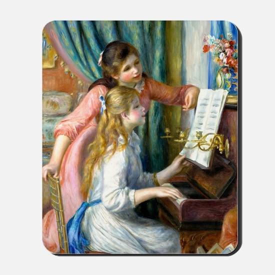 GC Renoir Piano Mousepad