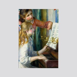 441 Renoir Piano Rectangle Magnet