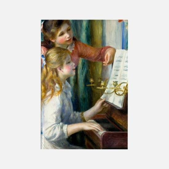 441 Renoir Piano Rectangle Magnet