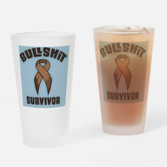 bs-survivor-TIL Drinking Glass