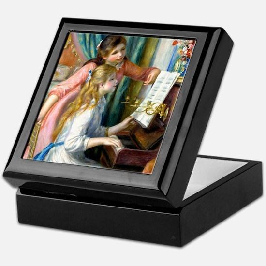 iPad Renoir Piano Keepsake Box