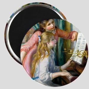 NC Renoir Piano Magnet