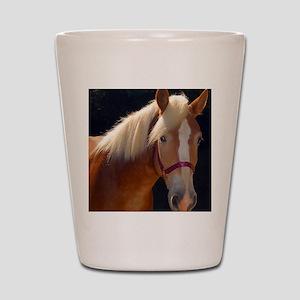 Sunlit Horse Shot Glass