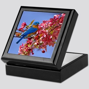 Bluebird in Blossoms Keepsake Box