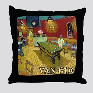 Cal VanGogh HCover3 Throw Pillow