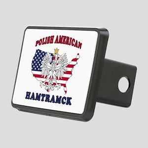 Hamtramck Michigan Polish Rectangular Hitch Cover