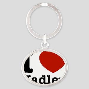 hadley Oval Keychain