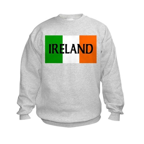 Ireland Flag Kids Sweatshirt