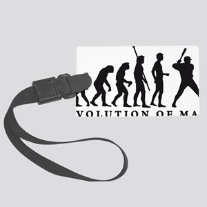 Evolution Baseball B 1c Large Luggage Tag