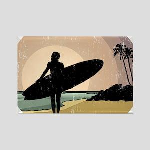 surfs up GOOD COPY Rectangle Magnet