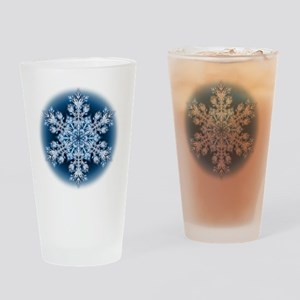 Snowflake 067 - transparent Drinking Glass
