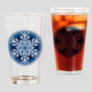 Snowflake 067 - transparent Drinking Glass