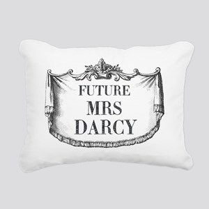 Future Mrs Darcy Mousepa Rectangular Canvas Pillow