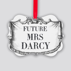 Future Mrs Darcy Mousepad Picture Ornament