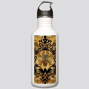 BeeFloralGoldKindleC Stainless Water Bottle 1.0L