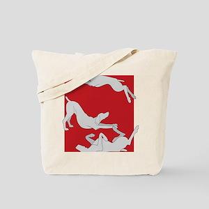 3WeimsRedTrans Tote Bag