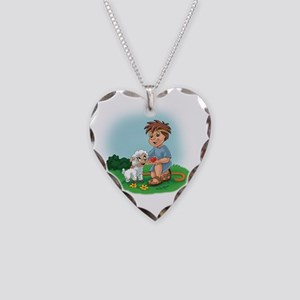 Christianity Is... Giving of  Necklace Heart Charm