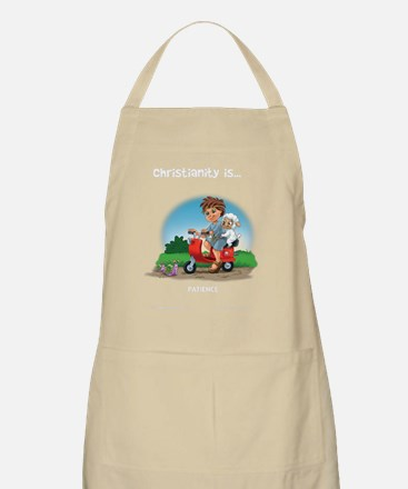 Christianity Is... Patience Apron