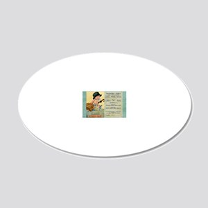 2x3_Cranford Dairy magnet 20x12 Oval Wall Decal