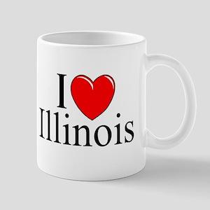 """""""I Love Illinois"""" Mug"""
