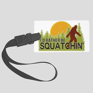 squatch-4 Large Luggage Tag