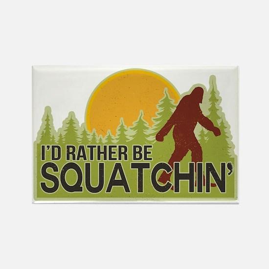 squatch-4 Rectangle Magnet