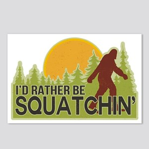 squatch-4 Postcards (Package of 8)