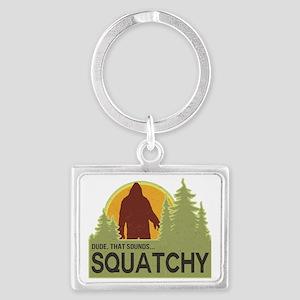 squatch-5 Landscape Keychain