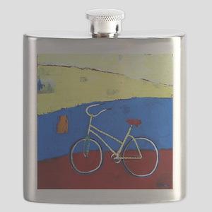 yellow bike 1 28x22 Flask