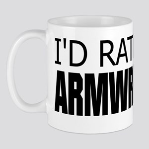 Rather Be Armwrestling Mug