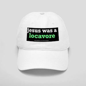 Jesus Locavore oval Cap