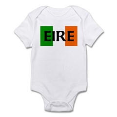 Eire Irish Flag Infant Bodysuit