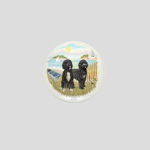 RowBoat-TwoblackPWD Mini Button