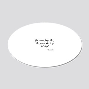hg583 20x12 Oval Wall Decal