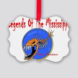 LEGENDS OF THE MISSISSIPPI Picture Ornament