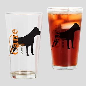 grungesilhouette3 Drinking Glass